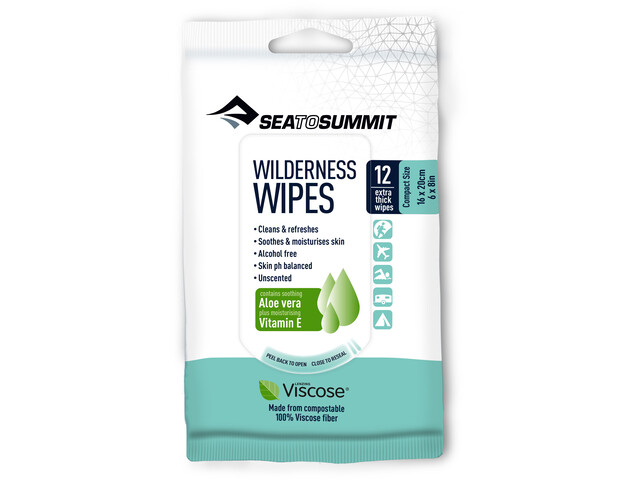 Sea to Summit Wilderness Lingettes Compact